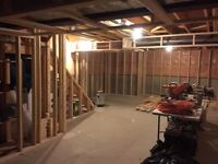 Basement Framing -$15/per foot