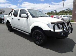 2012 Nissan Navara D40 S6 MY12 ST White 5 Speed Sports Automatic Utility Traralgon Latrobe Valley Preview