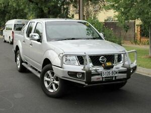 2012 Nissan Navara D40 S5 MY12 ST-X Silver 7 Speed Sports Automatic Utility Medindie Gardens Prospect Area Preview