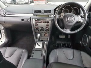 2007 Mazda 3 BK1032 SP23 White 5 Speed Sports Automatic Sedan Thornleigh Hornsby Area Preview