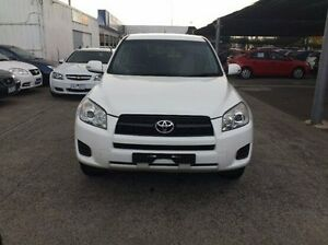 2012 Toyota RAV4 ACA33R MY12 CV White 4 Speed Automatic Wagon Maidstone Maribyrnong Area Preview