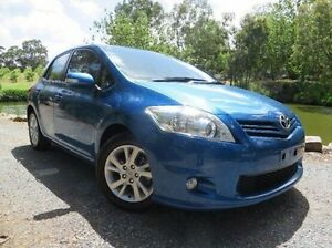 2012 Toyota Corolla ZRE152R MY11 Ascent Sport Blue 4 Speed Automatic Hatchback Christies Beach Morphett Vale Area Preview