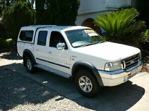 2006 Ford Courier PH (Upgrade) XLT Crew Cab White Automatic Dual Cab Deagon Brisbane North East Preview