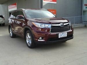 2015 Toyota Kluger KLUGER AWD GRANDE 3.5L PETROL AUTOMATIC WAGON 9M67070 002 Deep Red Automatic Melton Melton Area Preview