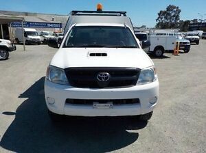 2007 Toyota Hilux White Manual Cab Chassis Pakenham Cardinia Area Preview