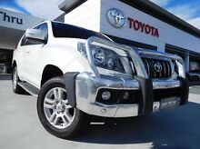 2012 Toyota Landcruiser Prado KDJ150R 11 Upgrade VX (4x4) White 5 Speed Sequential Auto Wagon Greenway Tuggeranong Preview