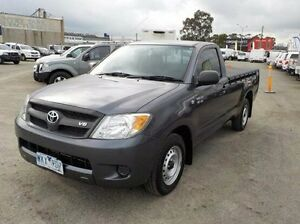 2008 Toyota Hilux Grey Automatic Utility Pakenham Cardinia Area Preview