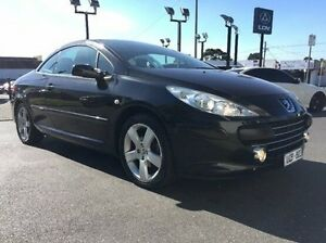 2006 Peugeot 307 T6 CC Dynamic Black 4 Speed Sports Automatic Cabriolet Heidelberg Heights Banyule Area Preview