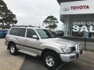 2002 Toyota Landcruiser FZJ105R GXL Silver 5 Speed Manual Wagon Mornington Mornington Peninsula Preview