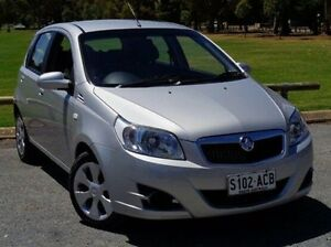 2009 Holden Barina TK MY09 Silver 4 Speed Automatic Hatchback Elizabeth Playford Area Preview