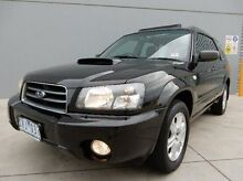 2004 Subaru Forester 79V MY04 XT AWD Luxury Black 4 Speed Automatic Wagon Braeside Kingston Area Preview