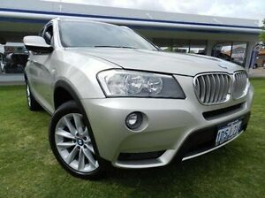 2011 BMW X3 F25 MY1011 xDrive28i Steptronic Silver 8 Speed Automatic Wagon Victoria Park Victoria Park Area Preview
