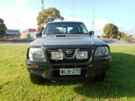 2000 Nissan Patrol ST GU II Grey 4 Speed Automatic Wagon Mile End South West Torrens Area Preview