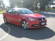 2014 Holden Commodore VF MY15 SV6 Red 6 Speed Sports Automatic Sedan Elizabeth Playford Area Preview