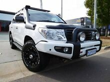2012 Toyota Landcruiser VDJ200R MY12 GX (4x4) White 6 Speed Automatic Wagon Greenway Tuggeranong Preview