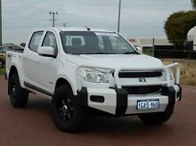 2012 Holden Colorado RG MY13 LX Crew Cab White 5 Speed Manual Utility Spearwood Cockburn Area Preview