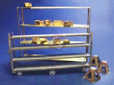 Resicast 1/35 Shelves Movable Racks w/Wheels Stacking Containers & Stands 352383 for sale  Shipping to India