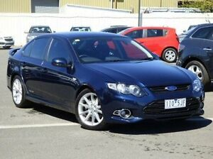 2013 Ford Falcon FG MkII XR6 Turbo Blue 6 Speed Sports Automatic Sedan Diggers Rest Melton Area Preview
