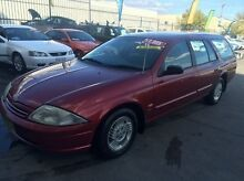 1999 Ford Falcon AU Forte Burgundy 4 Speed Automatic Wagon Fyshwick South Canberra Preview