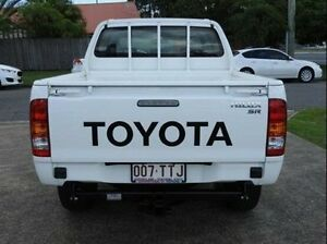 2013 Toyota Hilux KUN26R MY12 SR Double Cab White 5 Speed Manual Utility Morningside Brisbane South East Preview