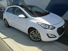 2015 Hyundai i30 GD3 Series II MY16 Premium DCT White 7 Speed Sports Automatic Dual Clutch Hatchback Bunbury 6230 Bunbury Area Preview