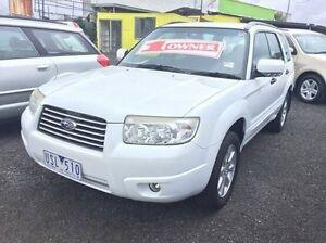 2006 Subaru Forester 79V MY07 X AWD White 4 Speed Automatic Wagon Moorabbin Kingston Area Preview