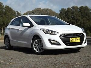 2014 Hyundai i30 GD2 Active White 6 Speed Sports Automatic Hatchback Old Reynella Morphett Vale Area Preview