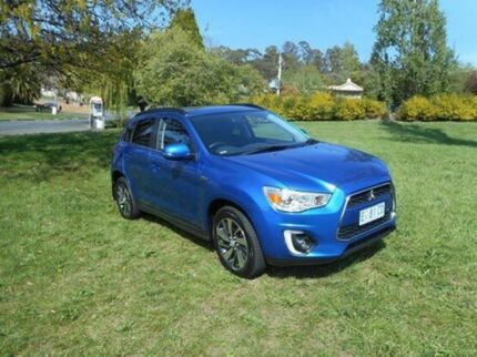 2014 Mitsubishi ASX XB MY15 LS 2WD Blue 6 Speed Constant Variable Wagon Derwent Park Glenorchy Area Preview