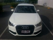 2012 Audi A1 8X MY12 Attraction Sportback S tronic White 7 Speed Sports Automatic Dual Clutch Hatchb Bungalow Cairns City Preview