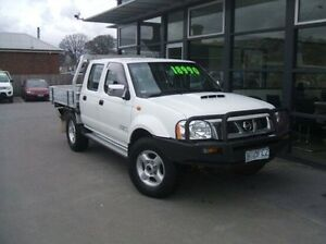 2009 Nissan Navara D22 MY2009 ST-R White 5 Speed Manual Utility Launceston Launceston Area Preview