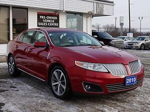 2010 LINCOLN MKS 3.5L Twin-turbo, 6-speed Auto, Dual Roof, NAV Peterborough Peterborough Area image 10