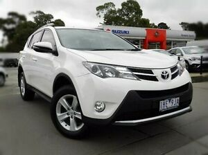 2013 Toyota RAV4 ZSA42R MY14 GXL 2WD White 6 Speed Manual Wagon Berwick Casey Area Preview