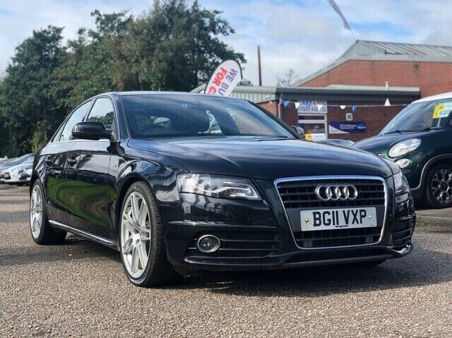 AUDI A4 2 0 TDI S LINE 4d 134 BHP 19 INCH ALLOYS + 1 PREVIOUS KEEPER  NAVIGATION SYSTEM + LEATHER + | in Broxburn, West Lothian | Gumtree