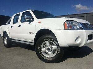 2012 Nissan Navara D22 S5 ST-R White 5 Speed Manual Utility Invermay Launceston Area Preview