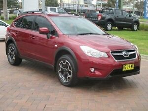 2013 Subaru XV G4-X MY13 2.0i Lineartronic AWD Red 6 Speed Constant Variable Wagon Baulkham Hills The Hills District Preview