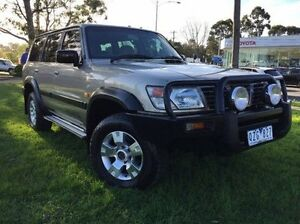 2001 Nissan Patrol GU II ST Gold 4 Speed Automatic Wagon Ferntree Gully Knox Area Preview