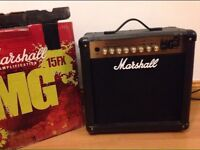 Marshall MG15FX 15W analogue amplifier