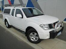 2012 Nissan Navara D40 S6 MY12 ST-X King Cab White 6 Speed Manual Utility Bunbury Bunbury Area Preview