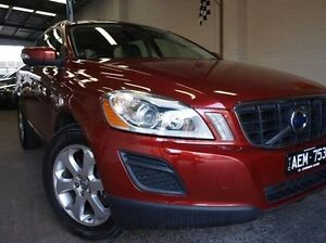 2011 Volvo XC60 DZ MY11 D5 Geartronic AWD Red 6 Speed Sports Automatic Wagon Highett Bayside Area Preview