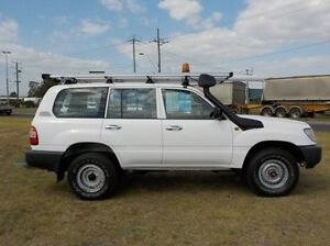 2005 Toyota Landcruiser  White Manual Wagon Pakenham Cardinia Area Preview