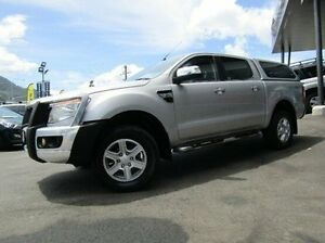 2013 Ford Ranger PX XLT Double Cab Silver 6 Speed Sports Automatic Utility Earlville Cairns City Preview