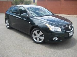 2013 Holden Cruze JH Series II MY14 Equipe Green 6 Speed Sports Automatic Hatchback Elizabeth Playford Area Preview