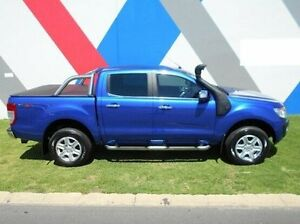 2015 Ford Ranger PX XLT Double Cab Blue 6 Speed Sports Automatic Utility Bunbury Bunbury Area Preview