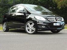 2011 Mercedes-Benz B180 W245 MY11 Black 1 Speed Constant Variable Hatchback South Melbourne Port Phillip Preview