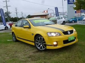 2012 Holden Commodore VE II MY12 SS V Yellow 6 Speed Manual Sedan West Ballina Ballina Area Preview