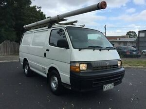 1995 Toyota Hiace RZH113R LWB White 5 Speed Manual Van Heidelberg Heights Banyule Area Preview