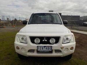 2011 Mitsubishi Pajero White Sports Automatic Wagon Pakenham Cardinia Area Preview