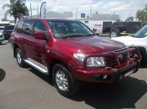 2009 Toyota Landcruiser VDJ200R GXL Red 6 Speed Sports Automatic Wagon Dubbo Dubbo Area Preview