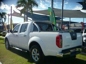 2014 Nissan Navara D40 S7 ST White 5 Speed Sports Automatic Utility Townsville Townsville City Preview