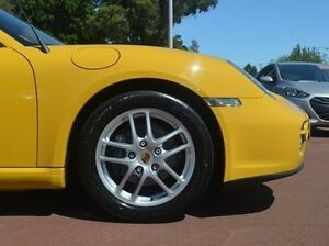 2007 Porsche Cayman 987 MY07 Yellow 6 Speed Manual Coupe Gosnells Gosnells Area Preview